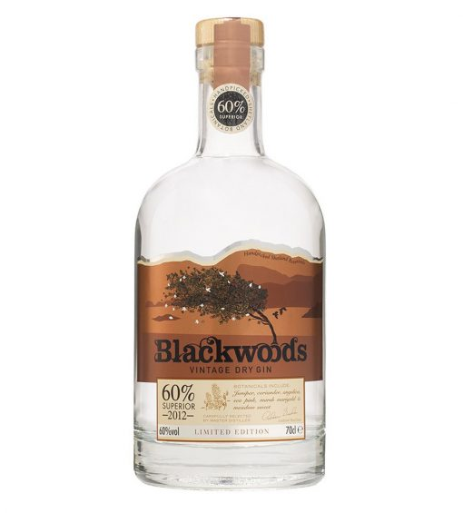 Blackwood's Vintage Dry Gin Superior 60°