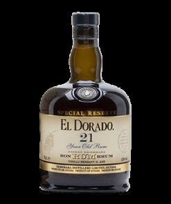 El Dorado Special Reserve Rum 21 Y.O.