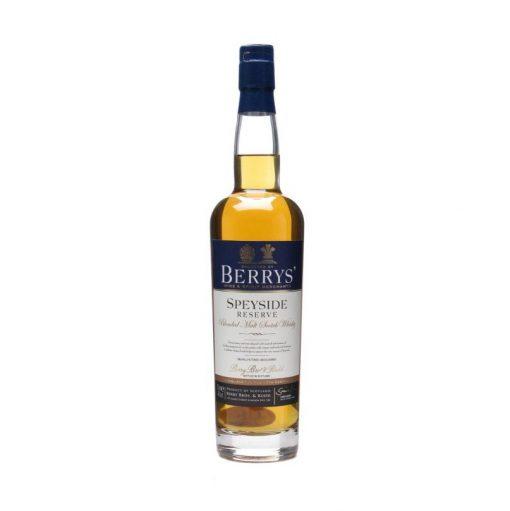 Berrys' Speyside Reserve Blended Malt Scotch Whisky