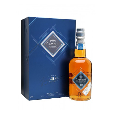 Cambus 40 years S. R. 2016 Lowlands Single Grain Scotch Whisky