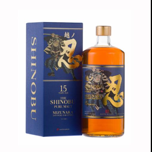 Shinobu 15 years whisky