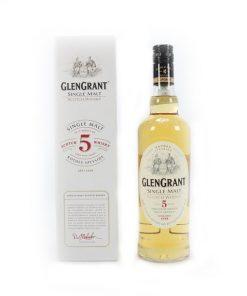 Glen Grant 5 Years Speyside Single Malt Scotch Whisky