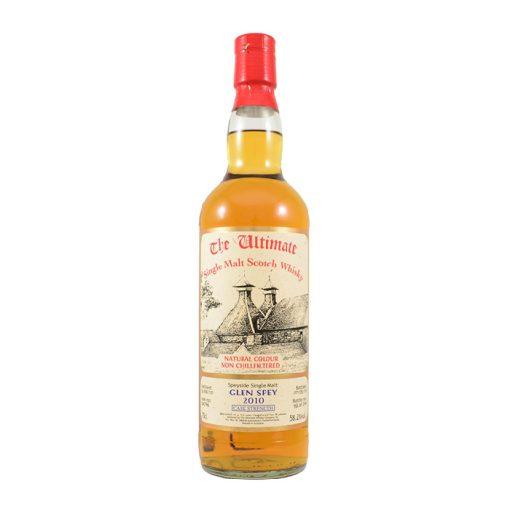 The Ultimate Glen Spey 2010 Speyside Single Malt Scotch Whisky Non Filtered