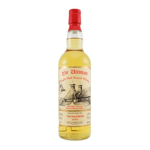 The Ultimate Inchgower 2007 Speyside Single Malt Scotch Whisky Non Filtered