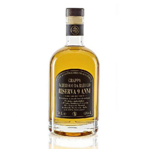 Grappa Nebbiolo Riserva 9 Anni - Antica Distilleria Altavilla
