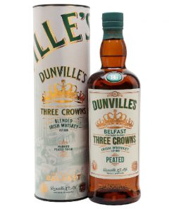 Dunvilles Three Crowns Peated Irish Whiskey